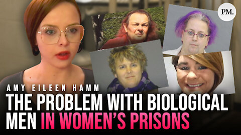 Why are violent biological males being sent to female prisons in Canada?