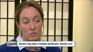 Bishop Malone's former secretary speaks out (morning schow)