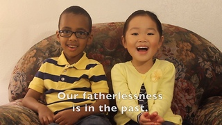 Little kids deliver special Father's Day message