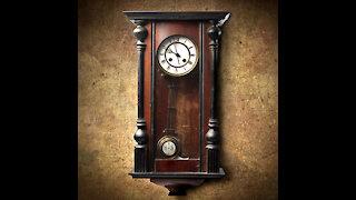 Sound of Clock ticking 2H w/black screen