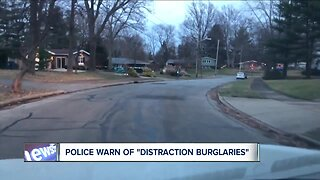 Police warn residents about 'distraction burglaries'