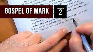 Gospel of Mark, Chapter 2 | The Handwritten Bible (English, KJV)