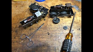 MARX PREWAR SINGLE REDUCTION MOTOR / COMPLETE DISASSEMBLY / EASY AND SIMPLE TO DO / 5 MINUTE JOB