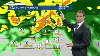 Possible strong storms Thursday