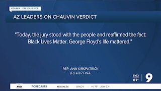 Arizona leaders respond to verdict in Derek Chauvin trial in George Floyd death