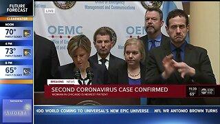 Second coronavirus case confirmed in U.S.