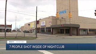 7 injured after Cleveland nightclub shooting