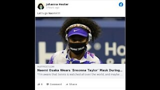 Naomi Osaka Pays Tribute To Breonna Taylor During The US Open