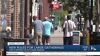 Tulsa City Council approves enforcement to city's mask ordinance