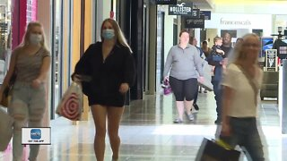 Malls have opened in Outagamie and Brown County