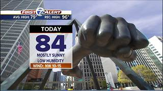 Hotter and more humid this weekend