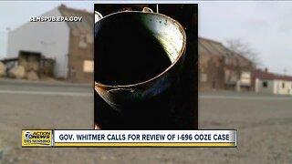 Gov. Whitmer calls for review of I-696 ooze case