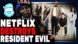 Epic Fail! Netflix Resident Evil Live Action Revealed! Absolutely ROASTED By Fans & Lance Reddick
