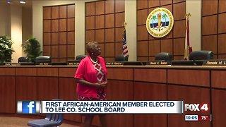 First black school board member elected in Lee County