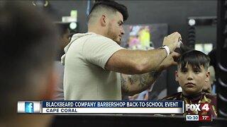 Blackbeard Company Barbershop gives free back-to-school haircuts to kids