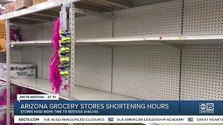 Arizona grocery stores shortening hours