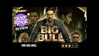 The Big Bull REVIEW   Abhishek Bachchan   Just Binge Reviews   SpotboyE
