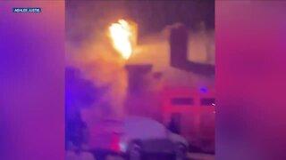 Crews respond to house fire in Aurora