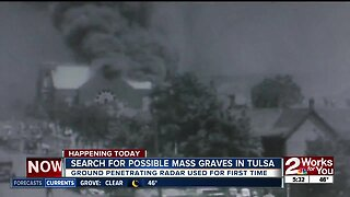 Search for possible mass graves in Tulsa