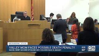 Rachel Henry faces possible death penalty