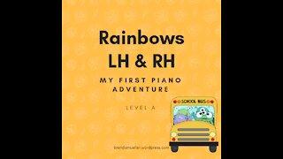 Piano Adventures Lesson Book A - Rainbows L.H. & R.H.