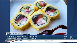 Ginza Sushi selling takeout meals