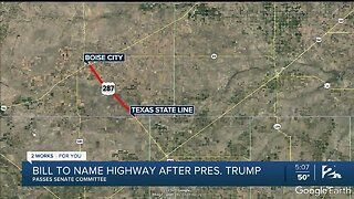 Bill to Name Highway After President Trump Passes Senate Committee