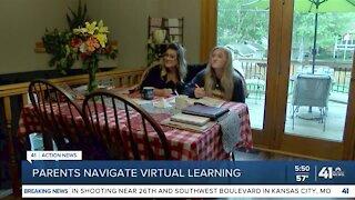 Parents navigate virtual learning