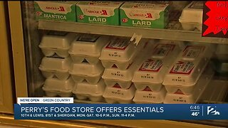We're Open Green Country: Perry's Food Store Continues Offering Essentials during Coronavirus Pandemic