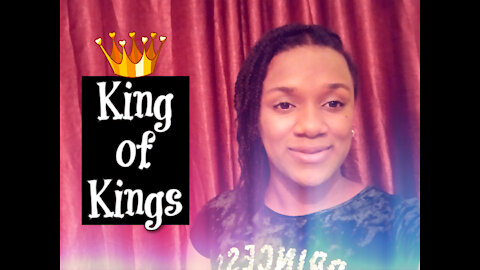 He is the King of Kings   Cover music  