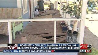 Ridgecrest community shaken by 4.2 magnitude earthquake