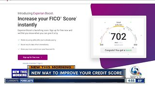 Experian Boost might be able to improve your credit score