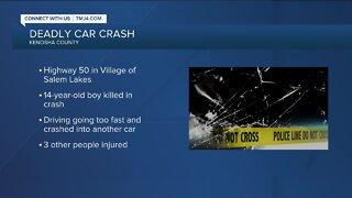 Car crash on Highway 50