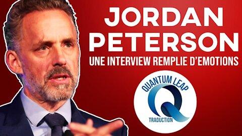 JORDAN PETERSON POUR UN MOMENT D'ÉMOTION ET DE SAGESSE