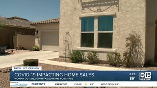 COVID-19 impacting home sales
