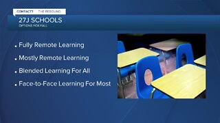 27J Schools releases learning plan for fall
