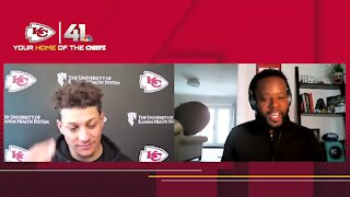 Patrick Mahomes interview with 41 Action Sports' Aaron Ladd