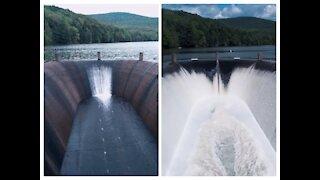 Quaker Lake Spill Over