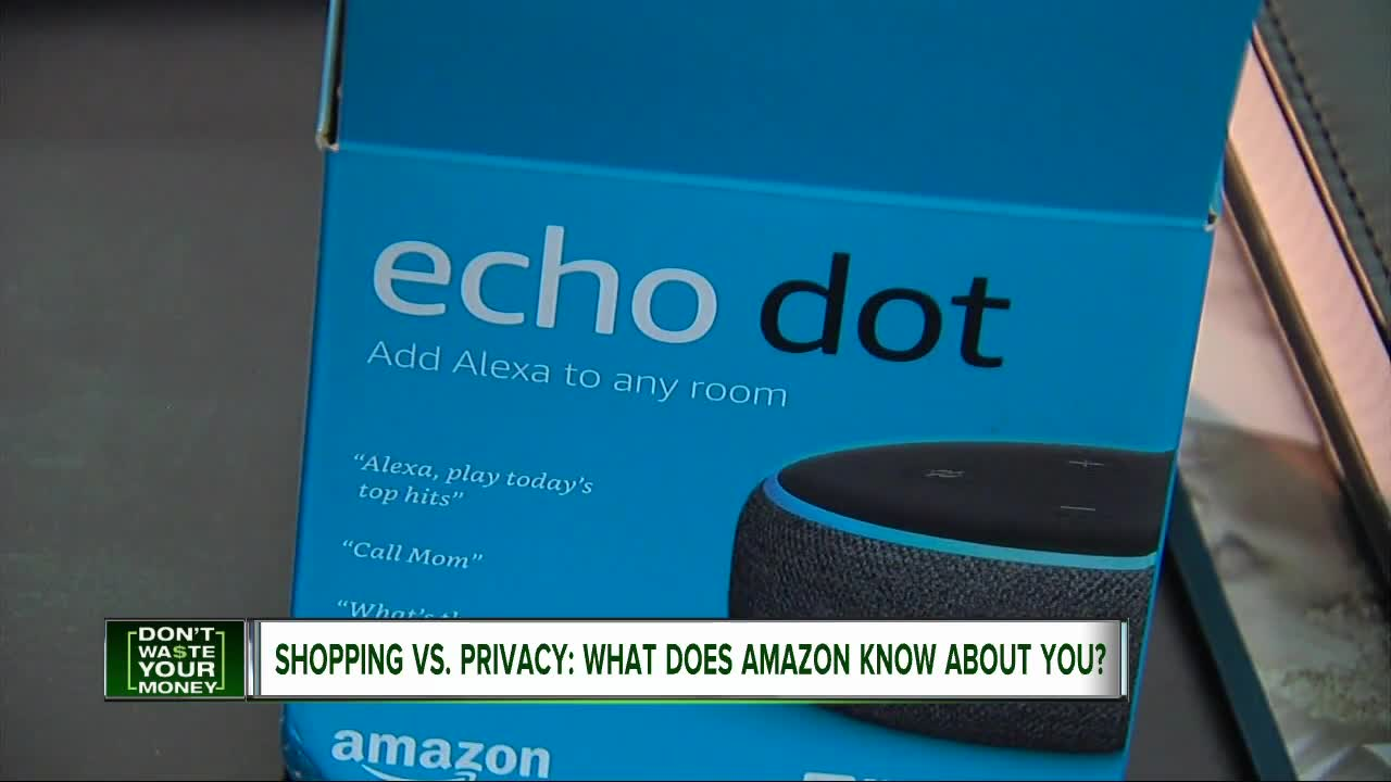 Shopping Vs. Privacy:: What does Amazon know about you?