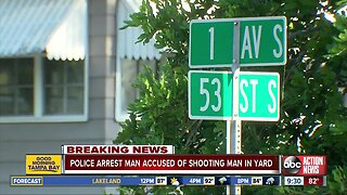 Man arrested after shooting St. Pete man in his front yard, police say