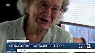 Saying goodbye to longtime Ocean Beach resident Betty Morse
