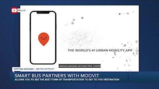 Moovit app launching in metro Detroit, teaming with SmartBus