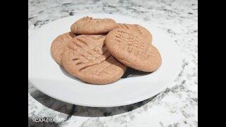 3 Ingredients Peanut Butter Cookie
