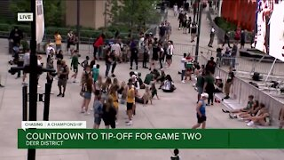 Countdown to tip-off for Bucks Hawks Game 2