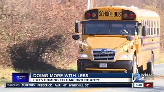 Cuts coming to Harford County schools
