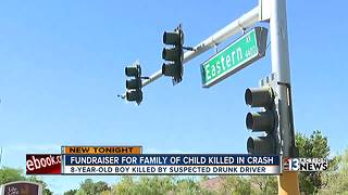 Fundraiser for family of child killed in crash