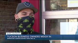 Tucson businesses react to curfew