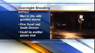 Man seriously hurt after shooting in downtown Buffalo