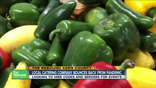 The Rebound: Local Catering Company Bounces Back