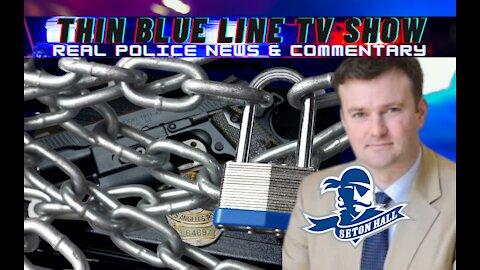Ex-Lawman Destroys Woke Professor Calling For Police Firearms To Be Secured In Lockboxes
